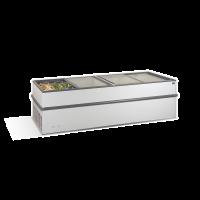 Βούτα κατάξυψης με συρόμενα τζάμια CRYSTALLITE 25 250,4 x 91,4 x 84 εκ CRL-CRYSTALLITE-25